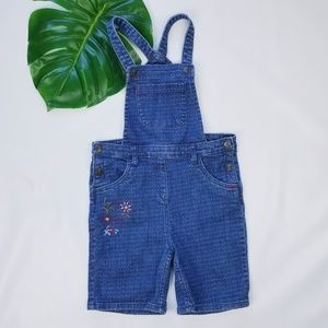 Hanna Andersson Jean Shorts Overalls